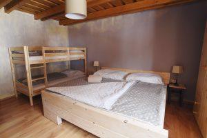 Menšia spálňa