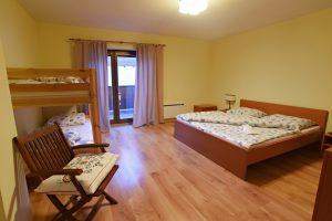 Väčšia spálňa